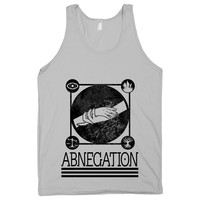 Abnegation on a Silver Tank Top