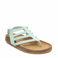 Chevron Cut-Out Sandals