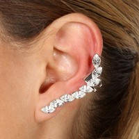 Crystal Gemstone Ear cuff