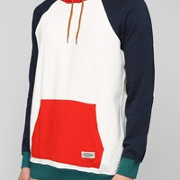 CPO Colorblock Zip-Up Hoodie Sweatshirt - Urban Outfitters
