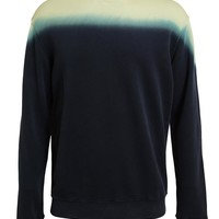 RAF SIMONS | Dip-Dye Printed Cotton Sweatshirt | Browns fashion & designer clothes & clothing