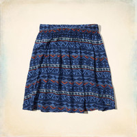 Hollister Natural Waist Skater Skirt