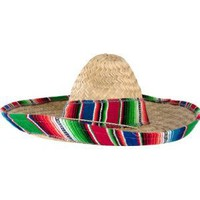 Child's Mexican Sombrero Hat With Serape Band