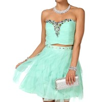 Araminta- Short Prom Dress