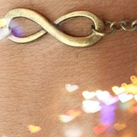 Infinity Chain Bracelet from P.S. I Love You More Boutique