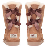 Buy UGG Bailey Bow Short Boots online at John Lewis