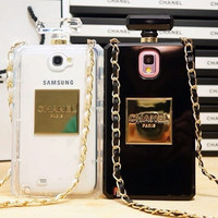 Samsung Galaxy S4 Chanel No5 Perfume Case