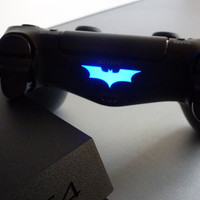 2 pieces of Injustice themed Batman Playstation 4 controller dualshock light bar decal