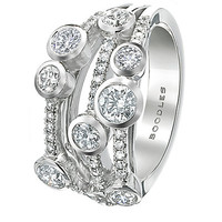 Boodles Classic Waterfall Ring