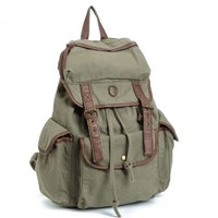 BUG Multi-function Canvas Backpack/ Practical Rucksack /Leisure Rucksack/ Unisex Backpack 8 Colors