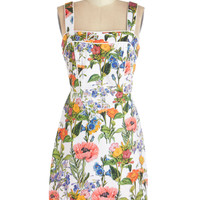 Topped with Botanicals Dress | Mod Retro Vintage Dresses | ModCloth.com