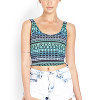 Ombre Escape Crop Top