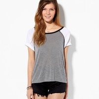 AEO Women's Open Back Baseball T-shirt