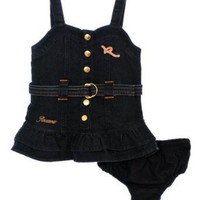 "Rocawear ""Summer Snaps"" Dress with Diaper Cover (Sizes 0M - 9M)"