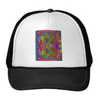 Abstract Infinity Symbol Trucker Hat