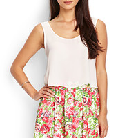 Spring Bouquet Skater Skirt