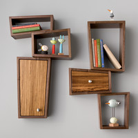 Twin Shelves by Kyle Dallman: Wood Shelf | Artful Home