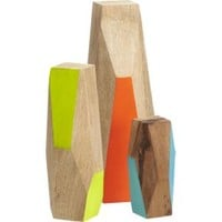 3-piece mango wood guardian set