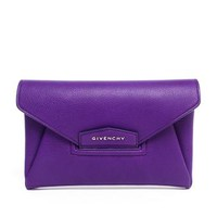 GIVENCHY | Antigona Leather Envelope Clutch | Browns fashion & designer clothes & clothing