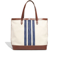 THE TRANSPORT TOTE IN SURF STRIPE