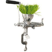 Weston Manual Wheatgrass Juicer, Stainless Steel