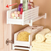 Sliding Bathroom Storage