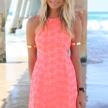 Neon Dress - Tangerine | SABO SKIRT