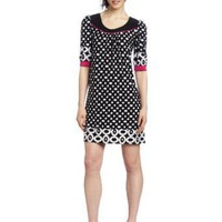 Tiana B Women&#x27;s Printed Jersey Dress