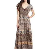 D.E.P.T. Women&#x27;s Romance Structured Maxi Dress