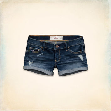 HOLLISTER LOW-RISE SHORT-SHORTS
