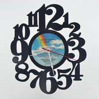 Vinyl Record Album Wall Clock (artist is Lynyrd Skynyrd)
