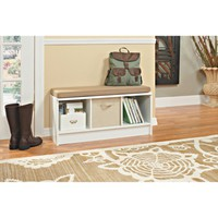 ClosetMaid 3-Cube Bench - White