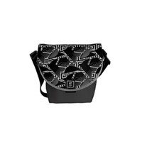 Touch of Black Rickshaw Messenger Bag