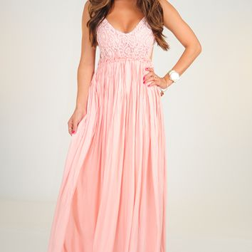 Wherever Love Goes Dress: Light Pink