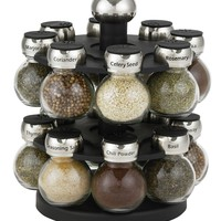 Martha Stewart Collection Orbital Spice Rack, 17-Piece Set