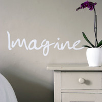 Imagine Wall Sticker