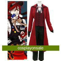 Black Butler Gureru Sutcliffe Cosplay Costume [TSY1111171019] - $90.28 : Cosplay, Cosplay Costumes, Lolita Dress, Sweet Lolita