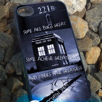 Sherlock holmes harry potter - iPhone 4/4s/5 Case - Samsung Galaxy S2/S3/S4 Case - Blackberry Z10 Case - Ipod 4/5 Case - Black or White