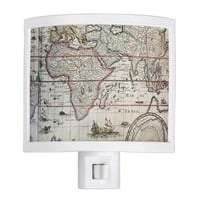 ancient map night light