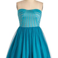 C'mon Feel the Turquoise Dress | ModCloth.com