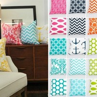 Pillow Covers-Bright and Festive!
