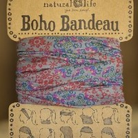 Natural life Boho Bandeau Head wrap