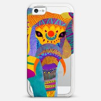 Whimiscal Elephant iPhone 5 case by Pom Graphic Design | Casetagram