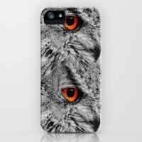 ORANGE OF MY EYE iPhone & iPod Case by Catspaws | Society6