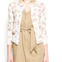 Mango Women&#x27;s Pastel Print Cardigan