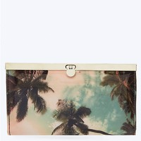 Palm Tree Sky Accordion Wallet