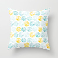 Coralina Throw Pillow by Anchobee