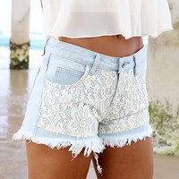 Voyage Denim Cut Offs | SABO SKIRT