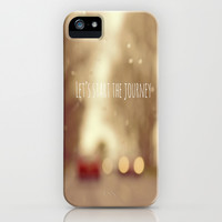 Let's Start The Journey iPhone & iPod Case by Ally Coxon | Society6