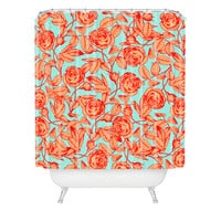 Caroline Okun Florosa Shower Curtain
